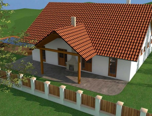 Projekt domu – 3d