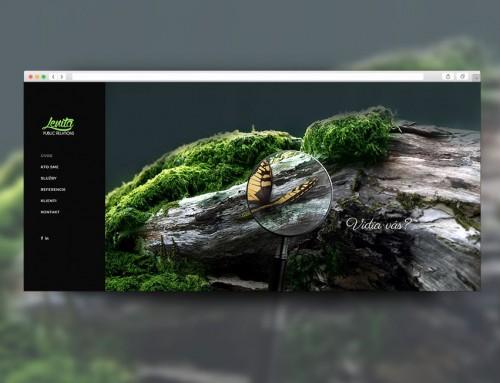 Webstránka Lenita PR