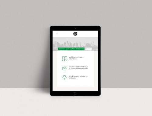 BLS Žilina – tvorba webstránky